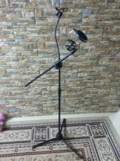 Microphone & stand