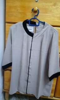 Black & white Chiffon blouse