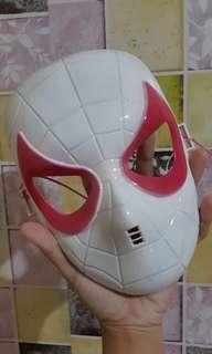 Topeng Spider Gwen - Spiderman into the Spider Verse