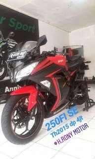 Ninja 250Fi SE Slipper Clutch Th2015 Km low kredit dp cukup 4jt saja