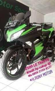 Ninja 250Fi Limited Edition Th2016 kredit dp 4jt saja