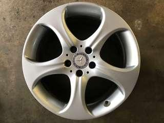 "18"" Used Rim (Mercedes W212 Facelifts)"