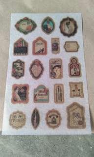 Washi Sticker Sheet A