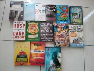 English Novel Books