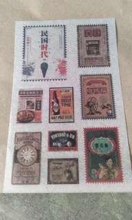 Washi Sticker Sheet B