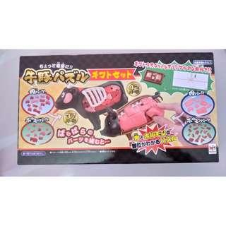 3D puzzle (cow and pig bundle) Limited version