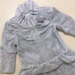 Nicholas & Bears Grey Jumpsuit Romper 連身衣 夾衣