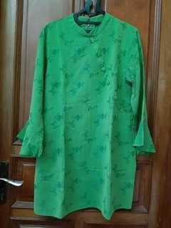Tunik Hijau sale baru blouse atasan wanita