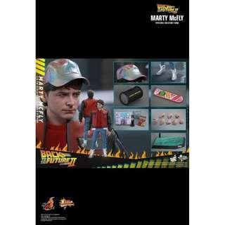 Hottoys Back to future Hottoys Back to the future Part II MARTY MCFLY 普通版 MMS379