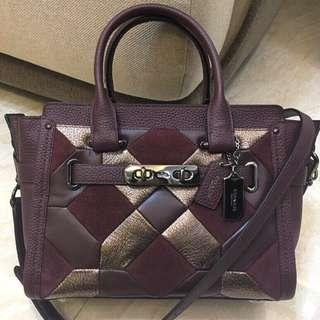 AUTHENTIC COACH SWAGGER 27 WITH CANYON QUILTED  (CO)  COACH F55512