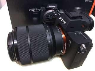 Sony a7 kit set 28-70mm  (99%new)
