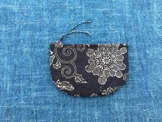 手作古布零錢包 雛菊款 handmade kofu wallet