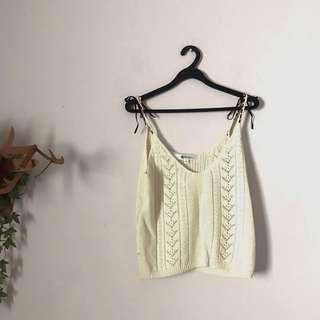 Japanese Knit Crop