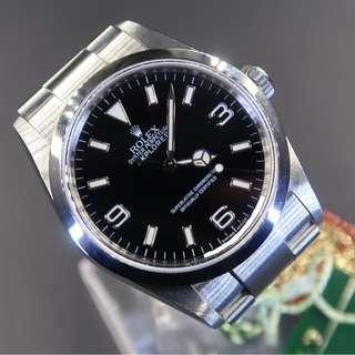 Pre Owned Rolex Explorer 114270 With Chapter Ring