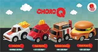 McDonald's choroq toy set