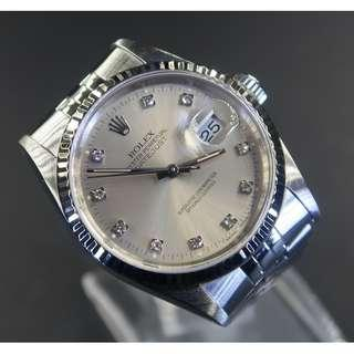 Pre Owned Rolex Datejust 16234 Diamond Dial
