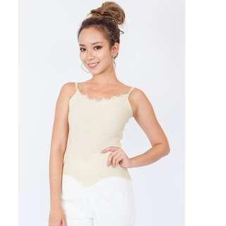 Knit Asymmetrical Camisole Top
