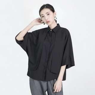 SU:MI 三角函數小露背襯衫