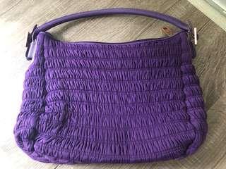 Folli Follie purple should bag handbag 紫色手袋
