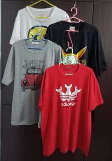 🚚 Nice big size unisex tee-shirts
