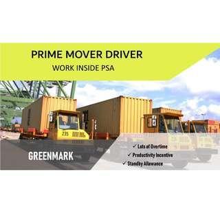 Prime Mover Driver
