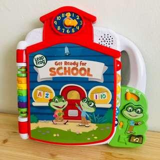 Leapfrog Get Ready for School Sound Book Toy