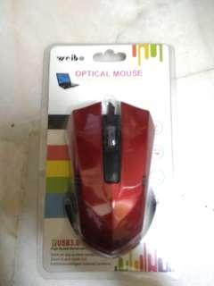 Optical Mouse RED