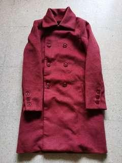 Dark Red Trenchcoat