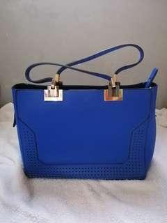 Royal blue elegant bag