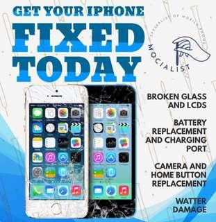 DAMAGED IPHONE? CALL US @ 8755 8773 IPHONE REPAIR
