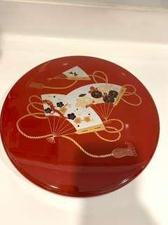 Japanese lacquer Candy Tray