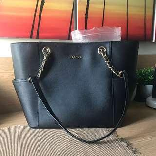 Calvin Klein leather handbag