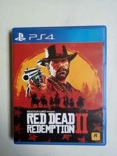 WTS PS4 RDR 2 (Code Unredeemed)