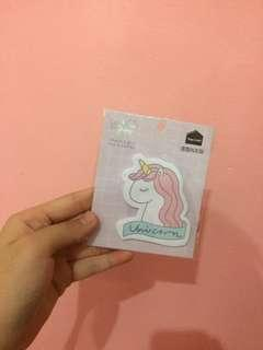 [FREE POSTAGE]Unicorn sticky note #MMAR18