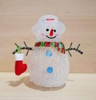 Snowman lighting 12cm