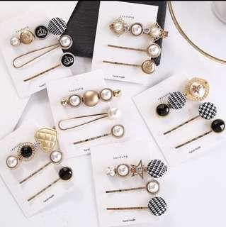 Hair clips set