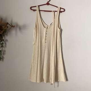 Pull & Bear Tan Dress
