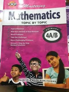 Mastering Mathematics Topic by Topic Pri 4A/B