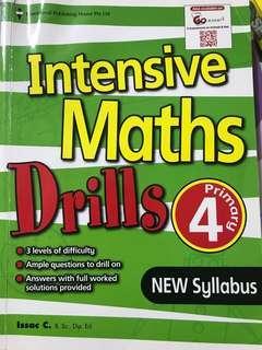 Intensive Maths Drills Primary 4