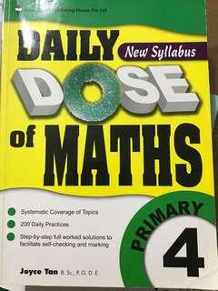 Daily Dose of Maths Primary 4