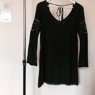 H&M boho short dress
