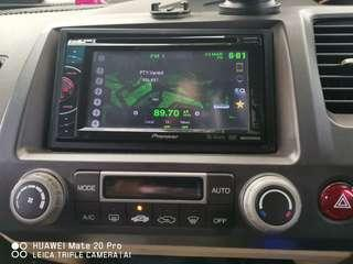 Civic Fd Pioneer head unit with housing