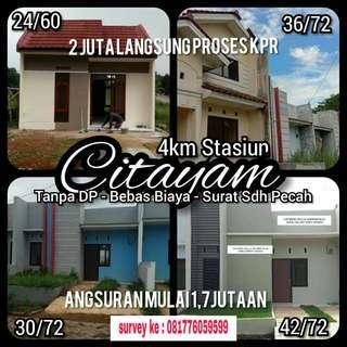 Rumah Termurah Bukit Citayam