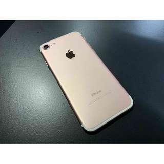 iPhone7 128G 玫瑰金色 只要8500 !!!