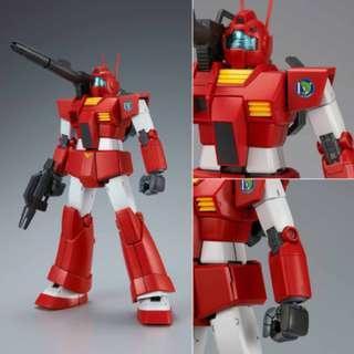 Bandai 魂限 MG 1/100 GM CANNON [RED HEAD](JABURO DEFENSE FORCE TYPE) 吉姆大砲支援機 附水印貼紙