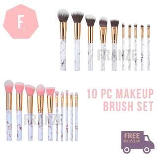 🚚 Makeup Brush Set (10pc)