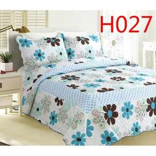 Cadar Patchwork Set 3 IN 1 /Queen Size Quilt 2.3m X2.5m