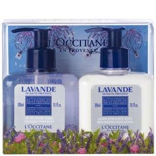 🚚 L'Occitane Lavender Hand Wash & Lotion Duo (2 Products)