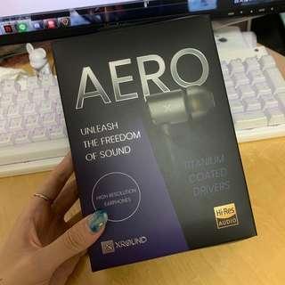 🚚 (二手)XROUND AERO 高解析耳機 鋁合金外殼 高耐用TPE線材