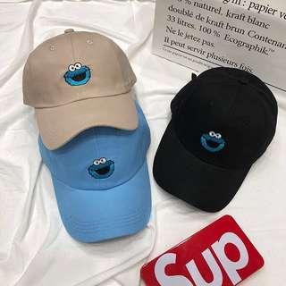 🚚 🍑: sesame street caps